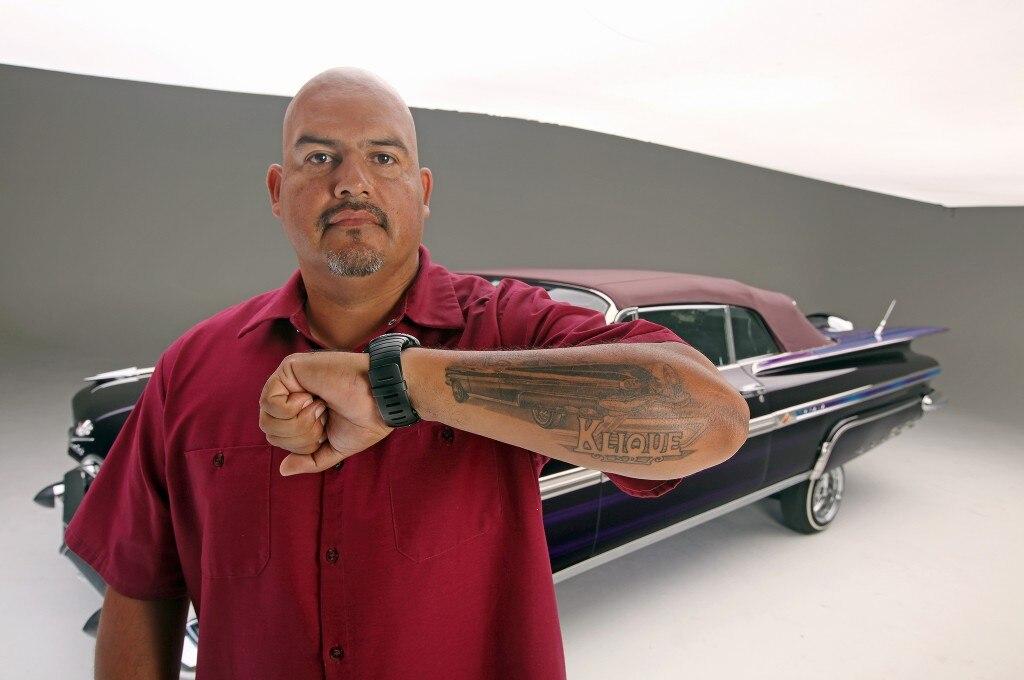 miguel a la torre 1959 impala convertible tattoo