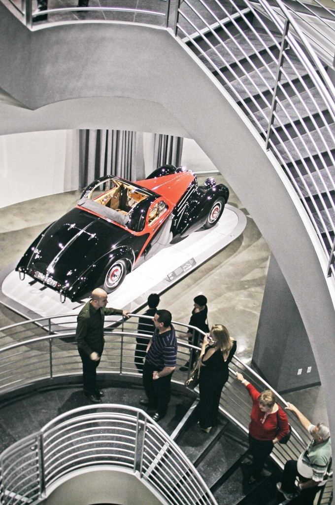 From the exotic Rolls-Royce to a display of concepts, the history of the automobile future resides at the Petersen.