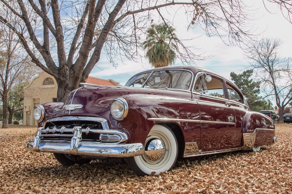 1952 chevrolet fleetline low driver side
