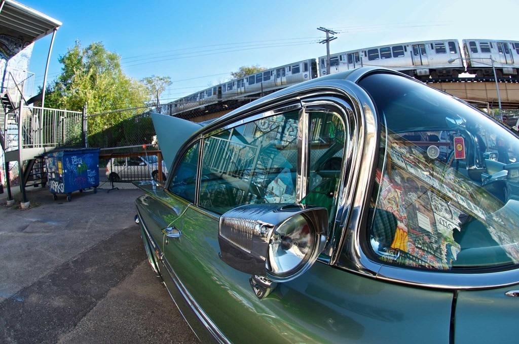 1959 chevrolet impala nu vue fender spotlight mirror