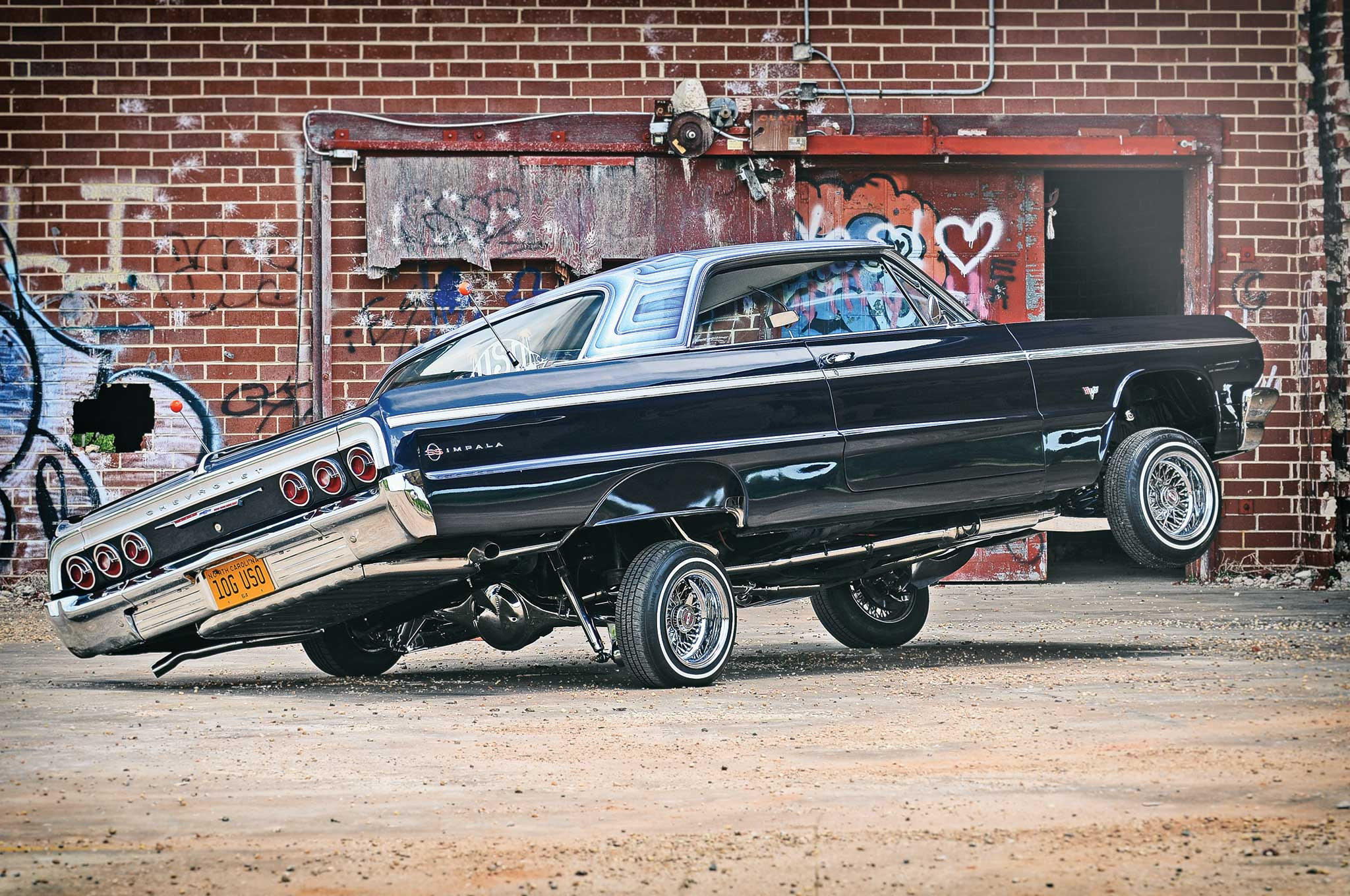 Chevy Truck Wheels >> 1964 Chevrolet Impala Super Sport - Motivation