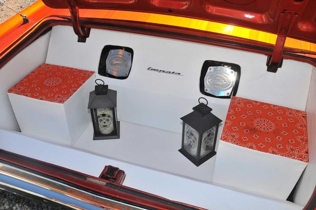 1965 chevrolet impala custom trunk setup 019