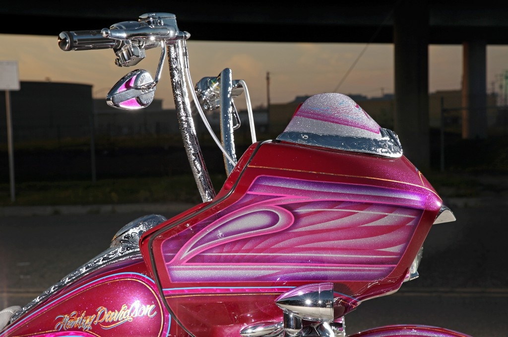 2012 harley davidson road glide candy painted faring