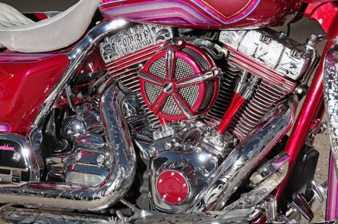 2012 harley davidson road glide engraved motor