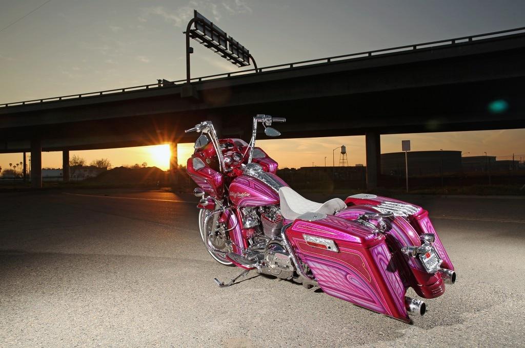 2012 harley davidson road glide left view