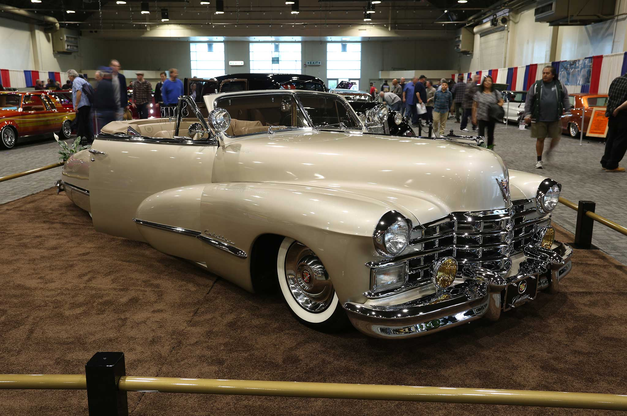 2016 Cadillac Convertible >> 2016 Grand National Roadster Show Pomona Fairplex Cadillac