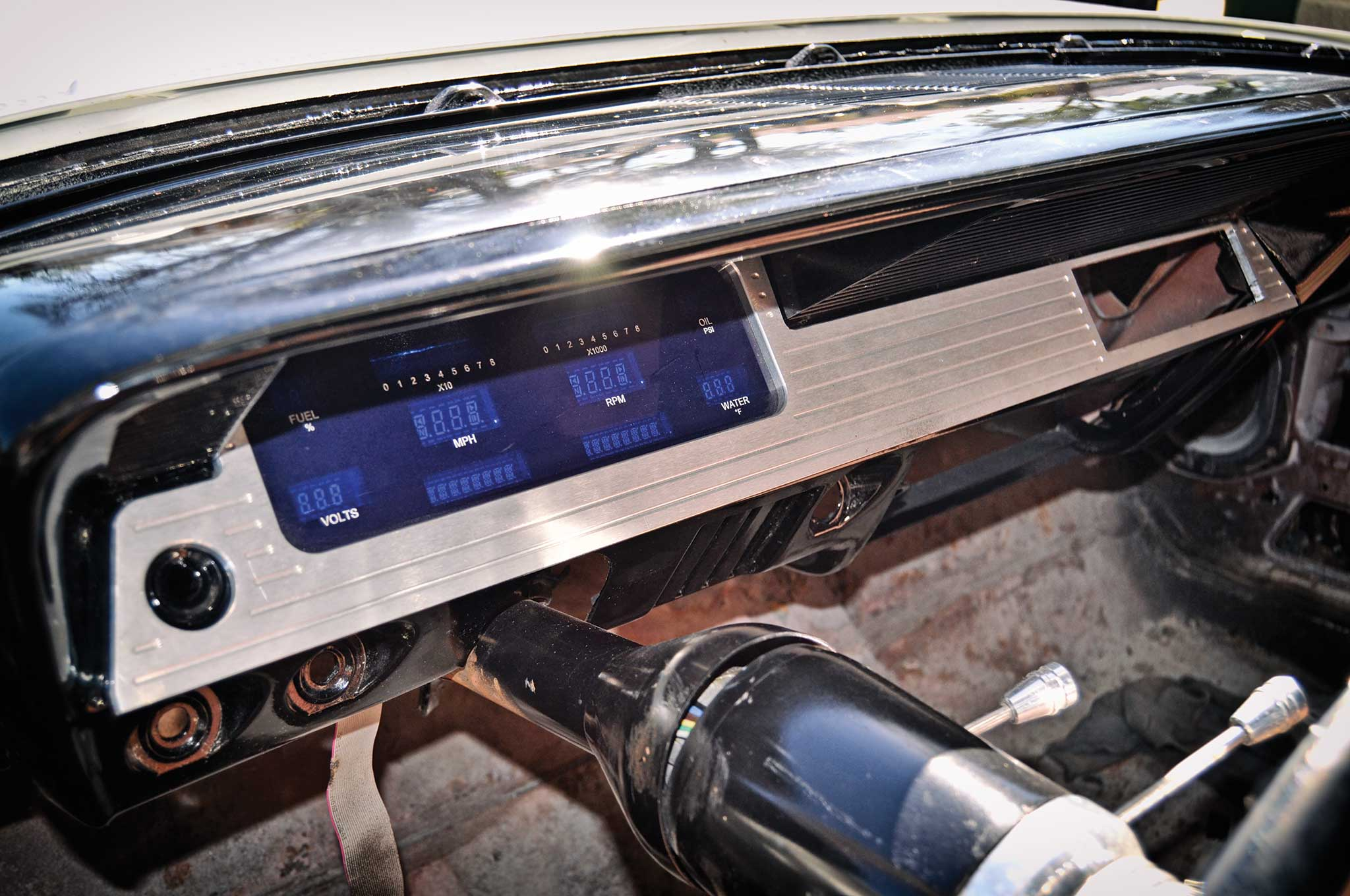 61 Impala Dakota Digital Gauge Amp Led Taillight Install