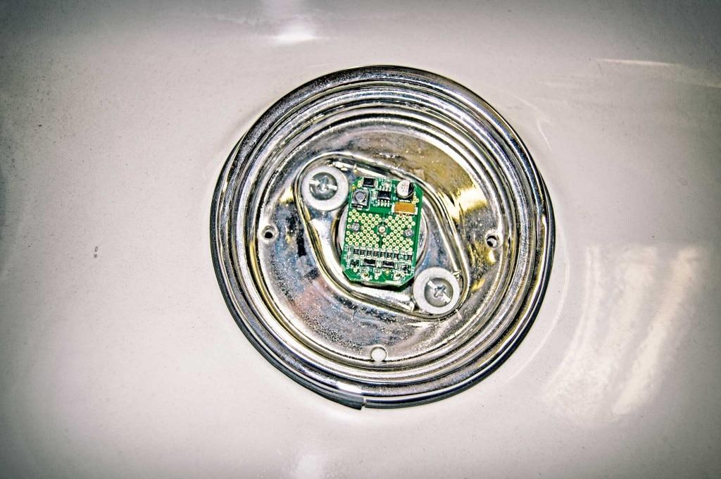 61 impala dakota digital gauge led taillight install led assembly 013