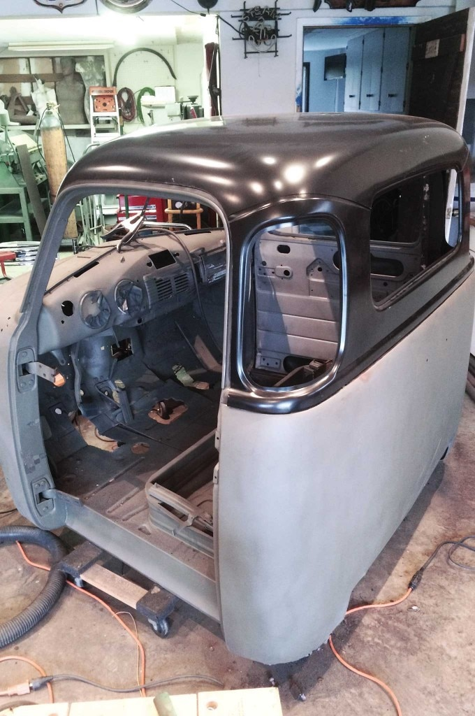 chevy truck 5 window conversion brother replacement panels 011