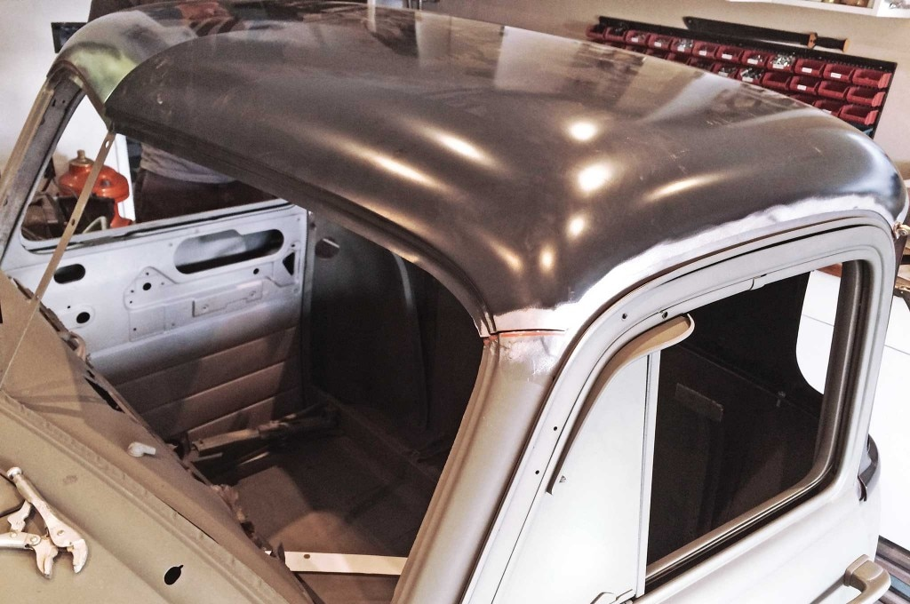 chevy truck 5 window conversion panel fitting 013