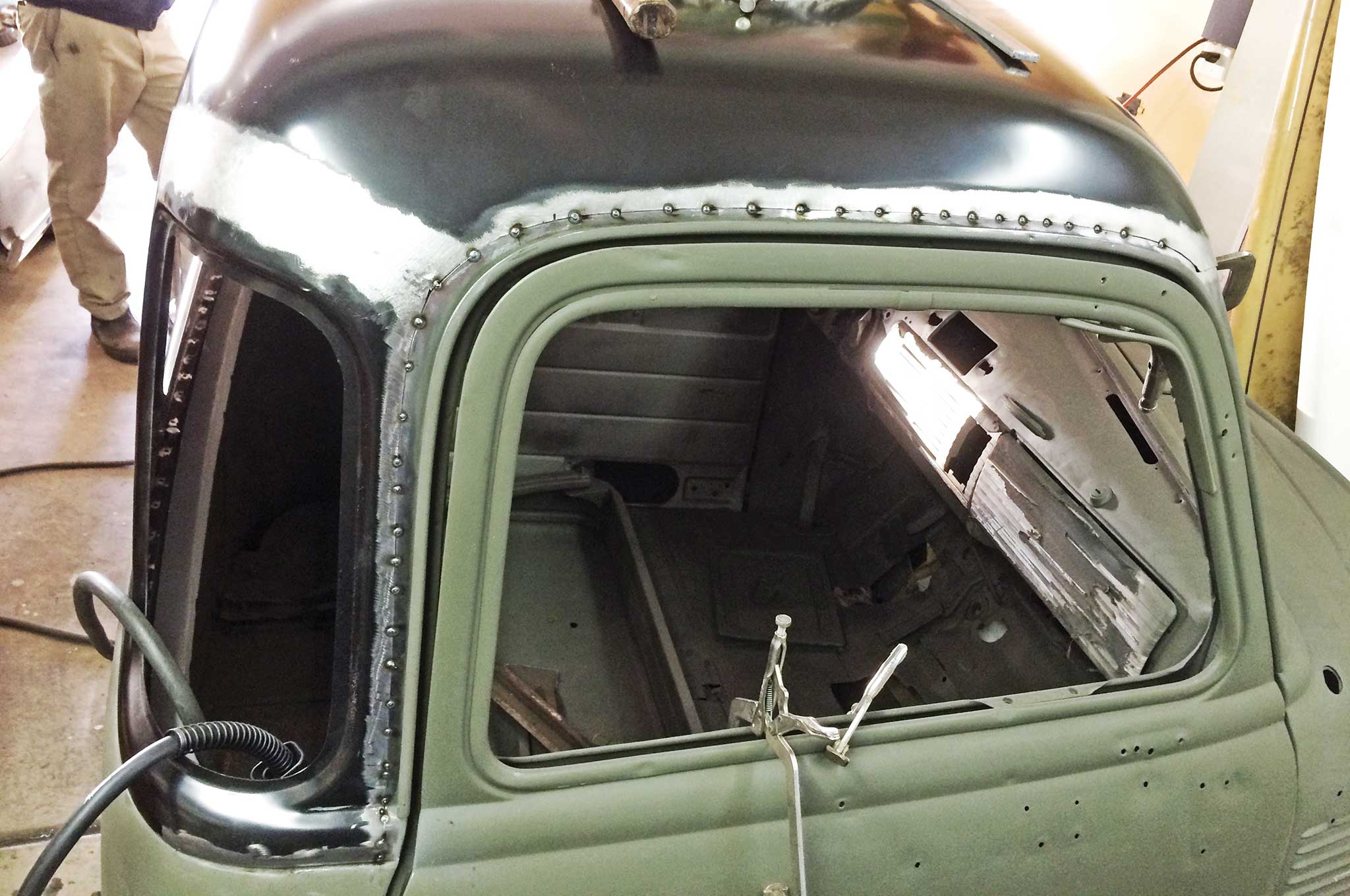 Chevy Truck 5 Window Conversion Glass House Bomb Truck