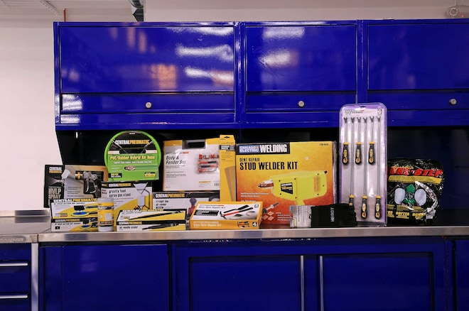 Budget Body Shop Using Harbor Freight Tools
