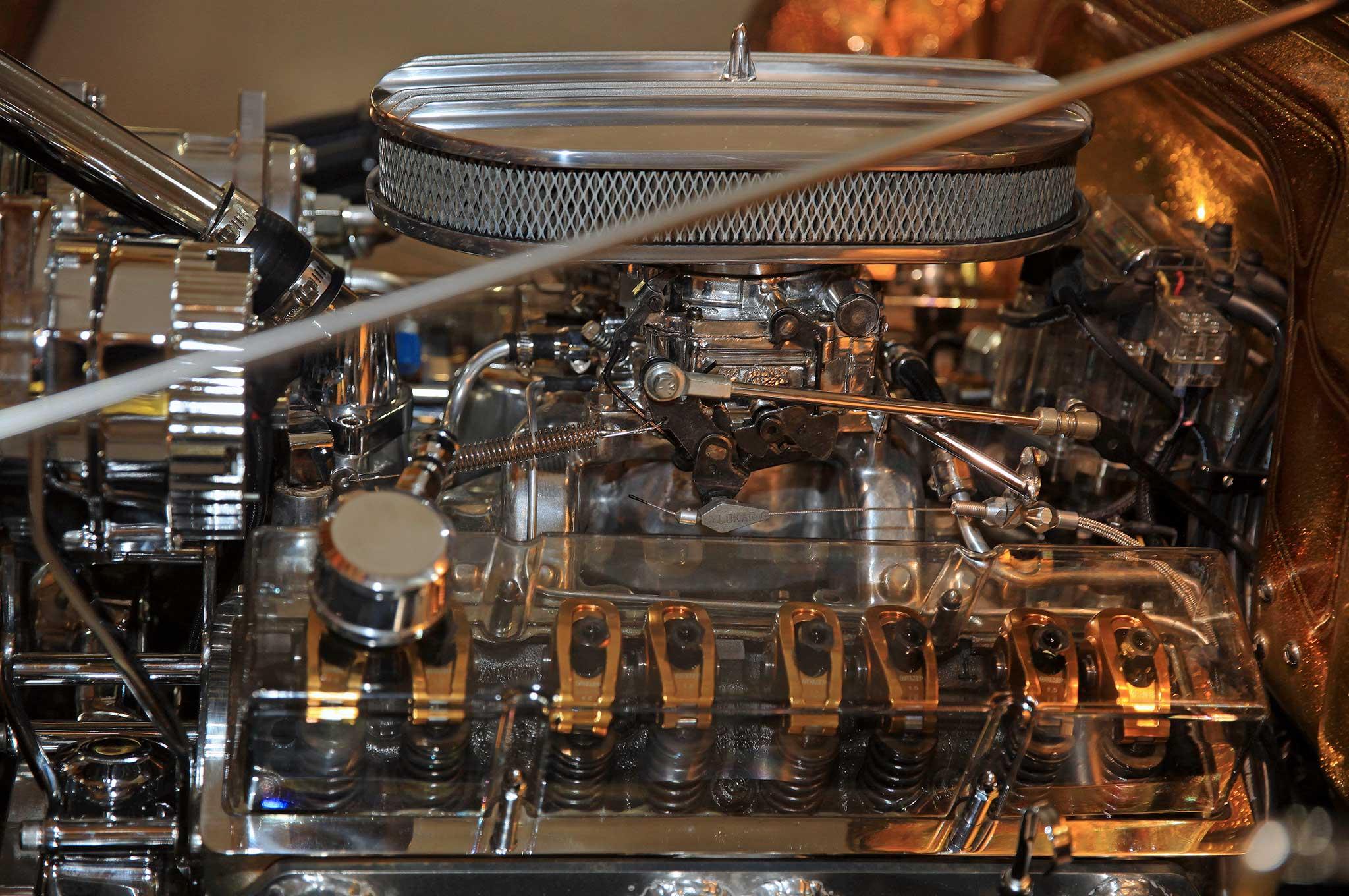 1953 Ford F100 Truck Engine Lowrider