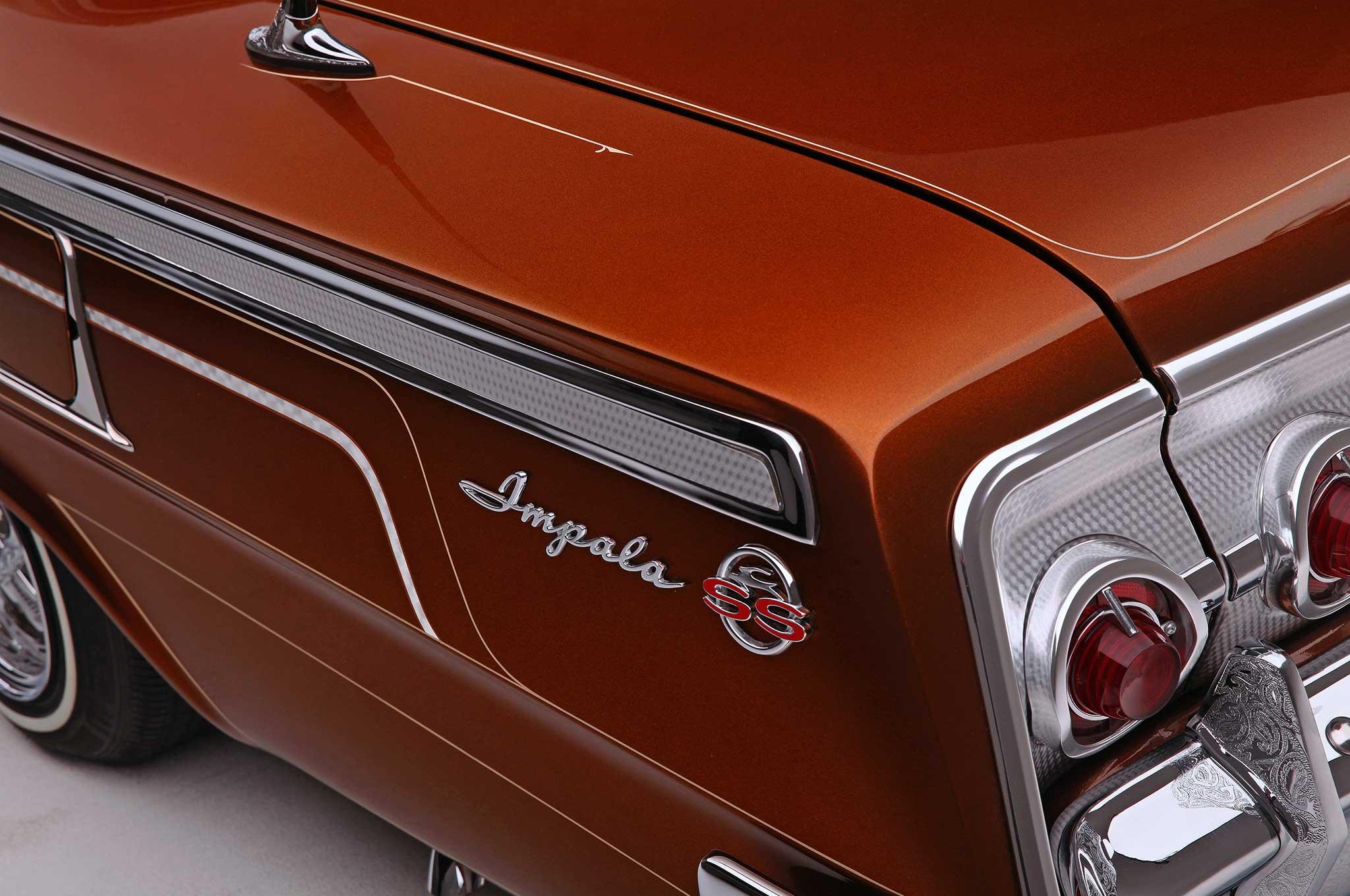 62 Impala SS Quarter Panel Emblems  NEW