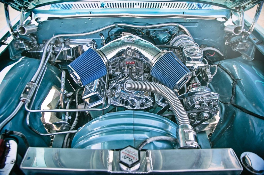1962 chevrolet impala ss convertible chevy 327 engine 001