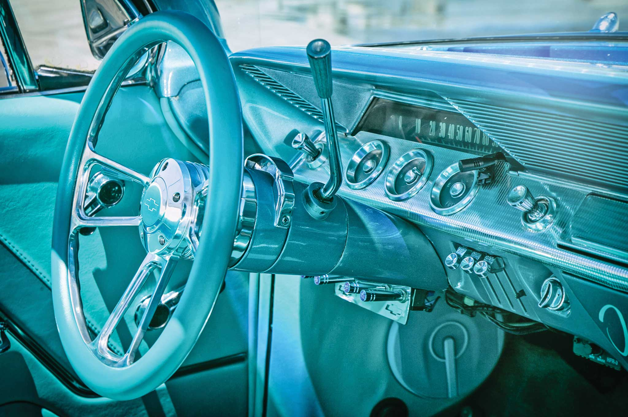 1962 Chevrolet Impala SS Convertible - Driving Topless