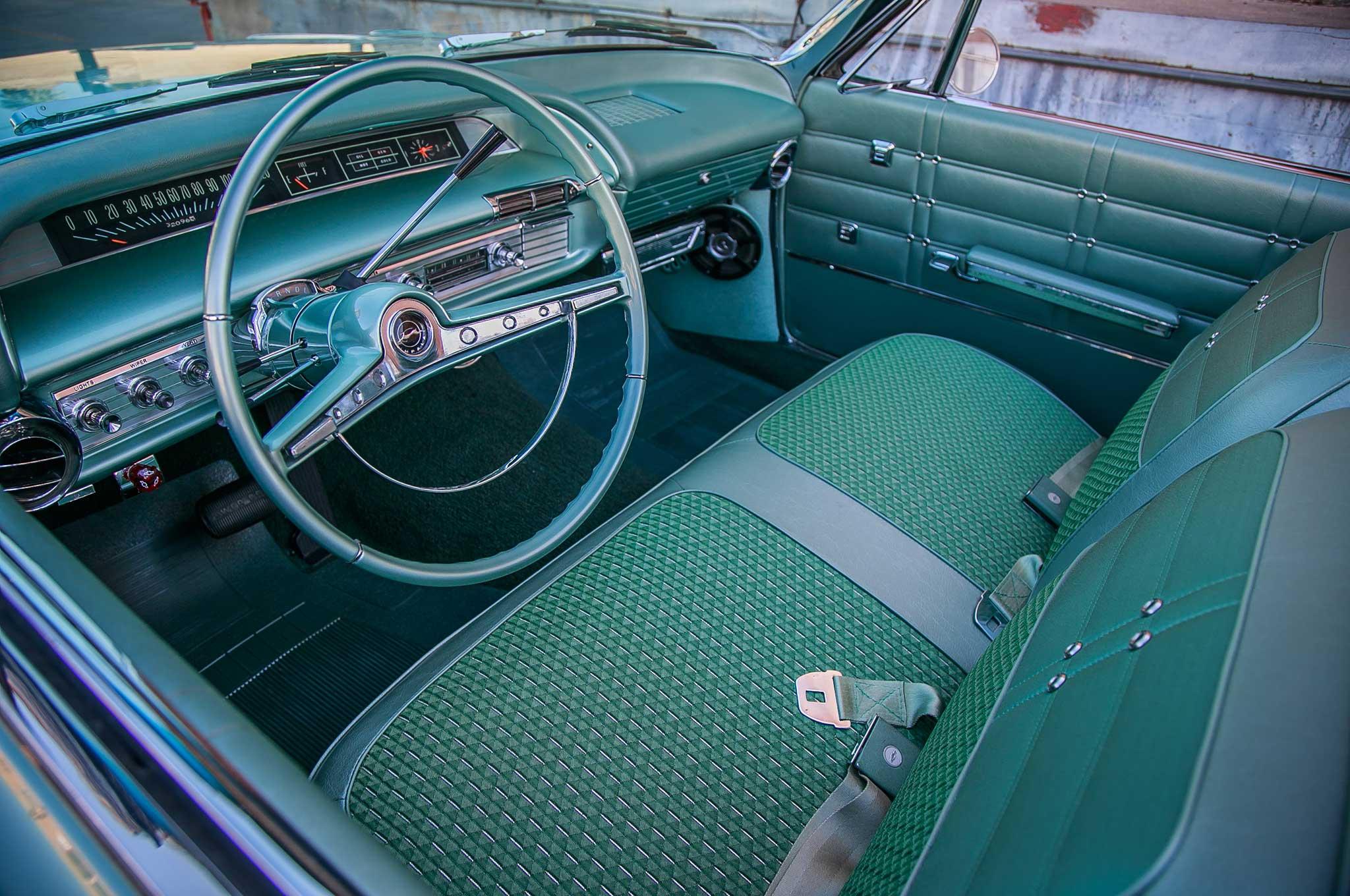 Andres Espana Jr.'s 1963 Chevy Impala 'Vert