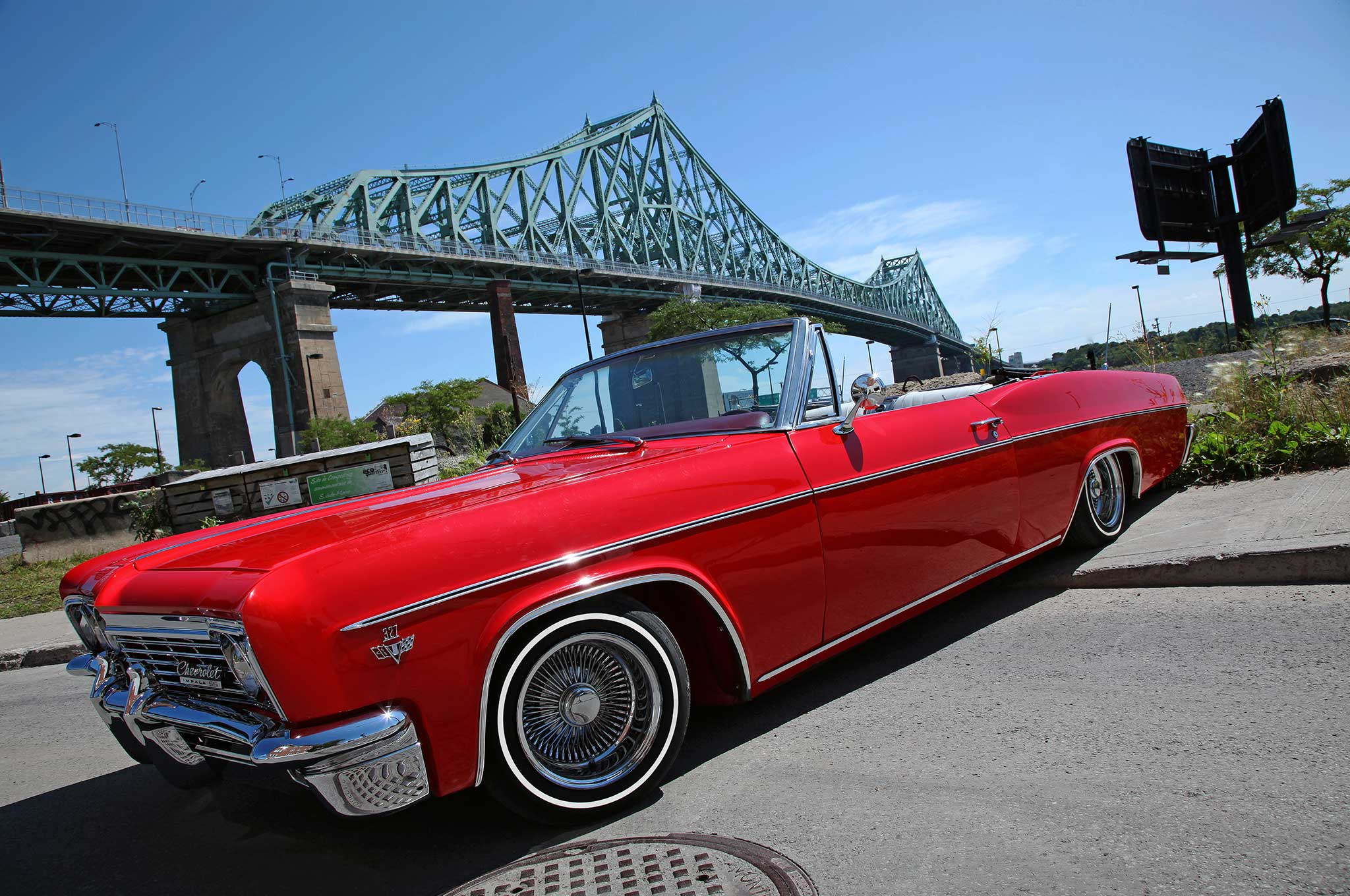 A Canadians Kids Dream Comes True With 66 Impala 1966 Chevy Convertible 1 21