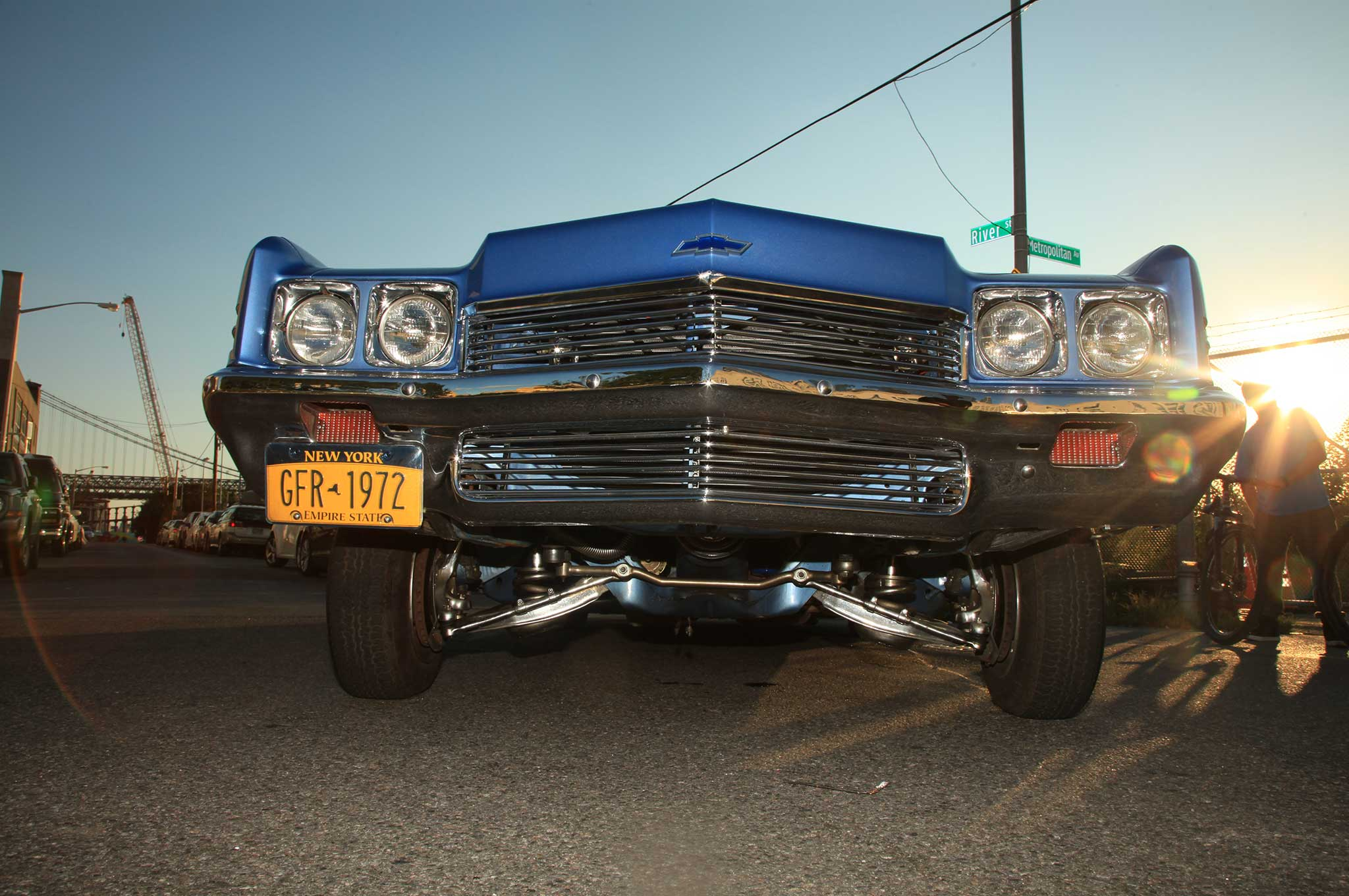 A '72 Chevy Impala That's LA Built for NY Riding