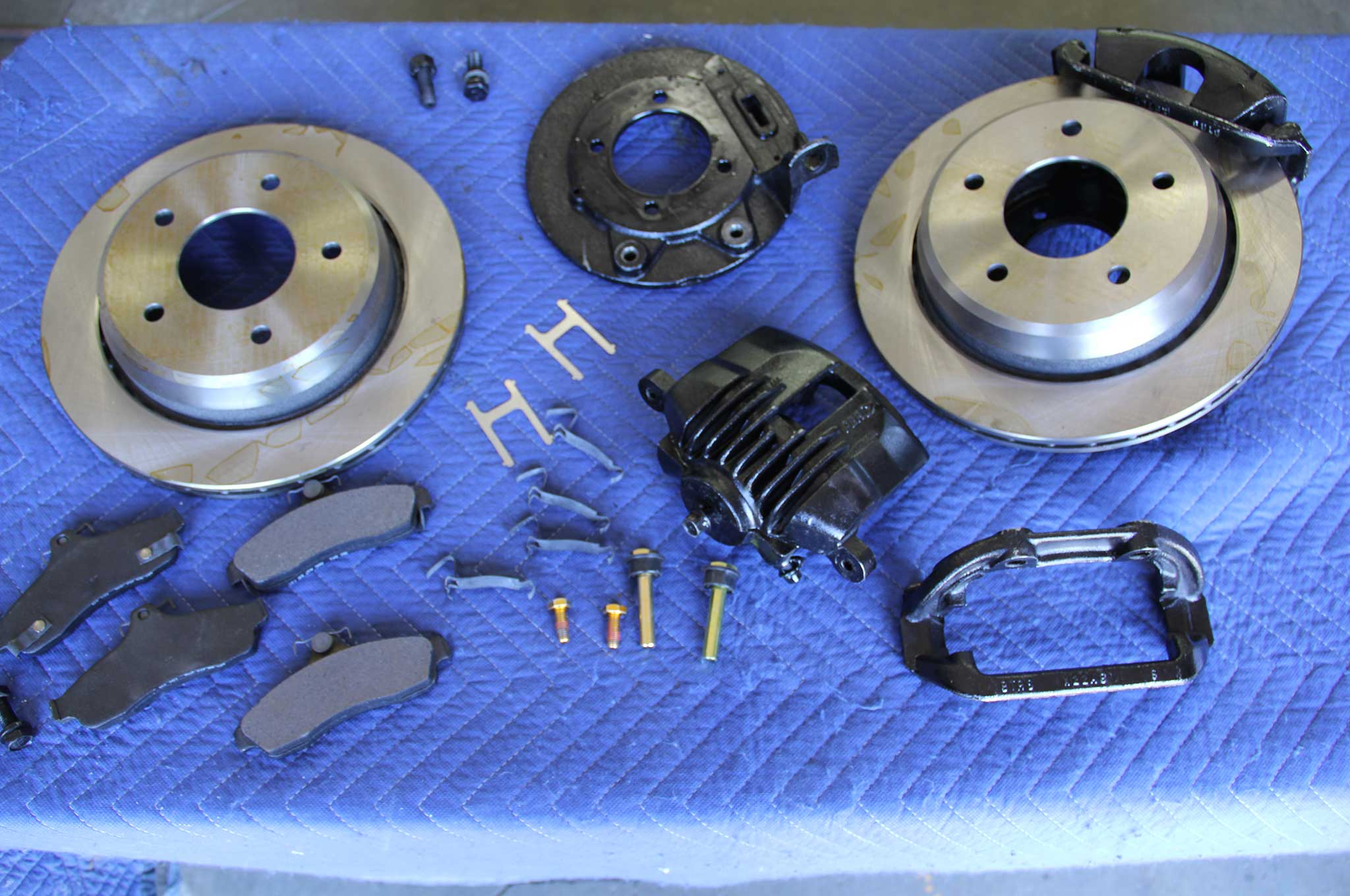 GM Model Drum to Disc Brake Conversion