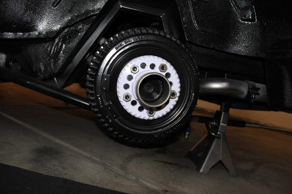 gm model drum to disc brake conversion drum brake cover 004