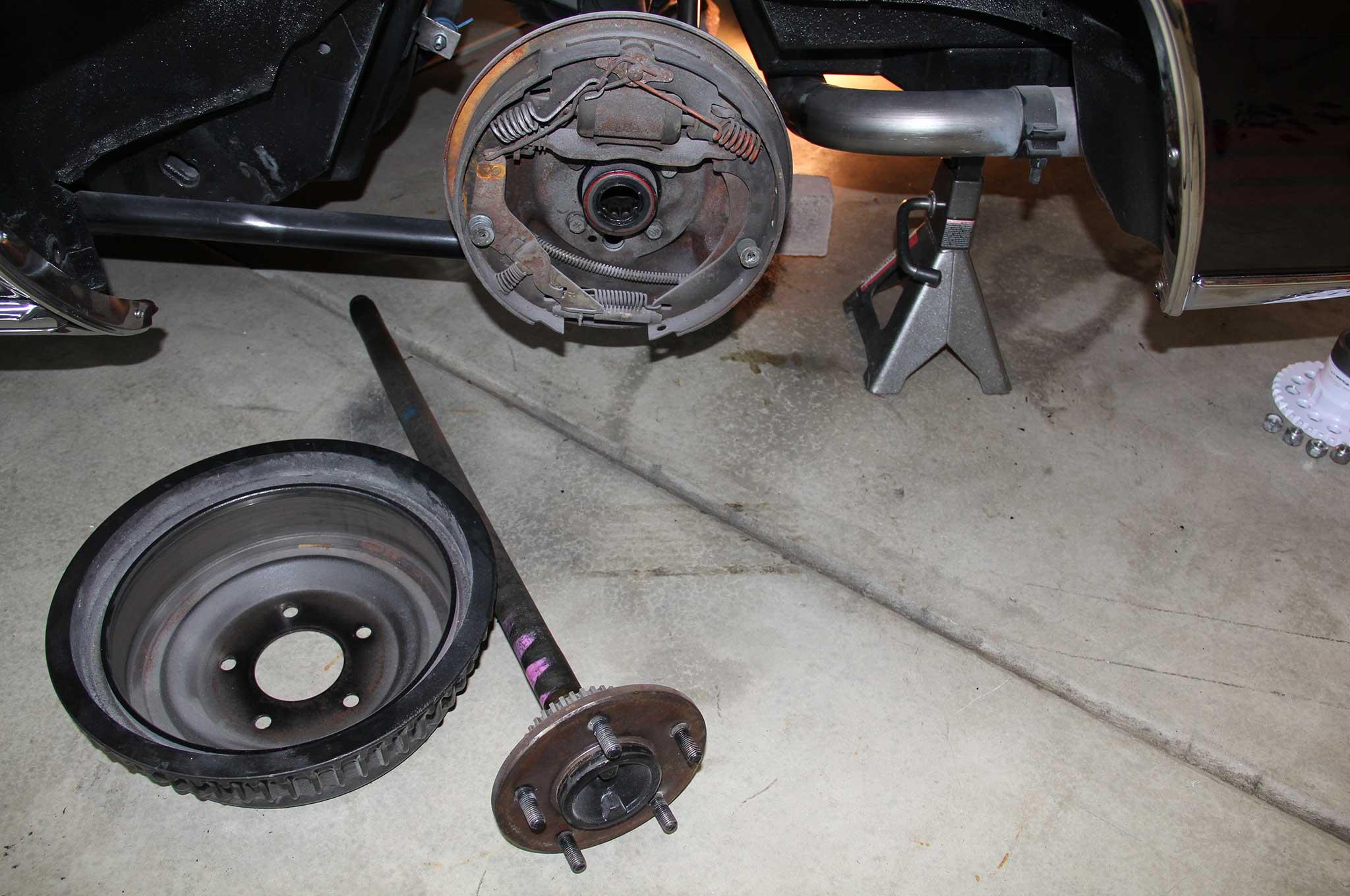 Gm Model Drum To Disc Brake Conversion Rear Shoe Diagram Chevelle Tech 7 12