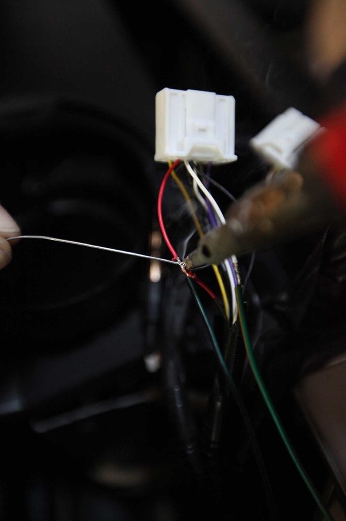 pioneer install soldering wires 04