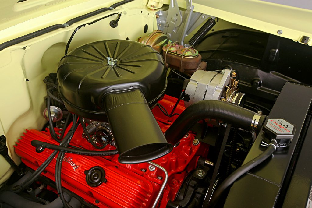 1957 chevrolet bel air 350 motor