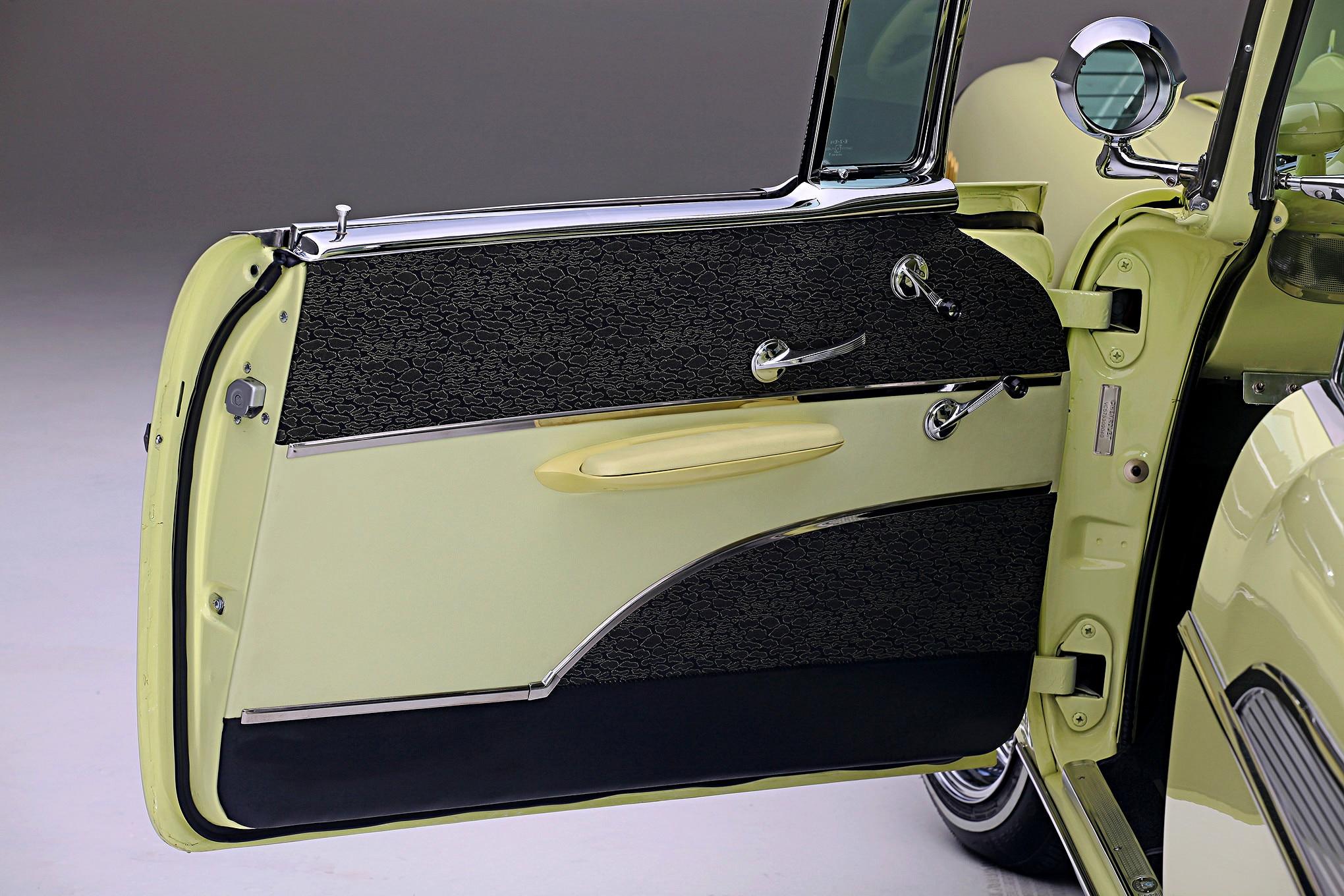 Chevrolet Bel Air Door Panel on 1957 Buick Super 2 Door