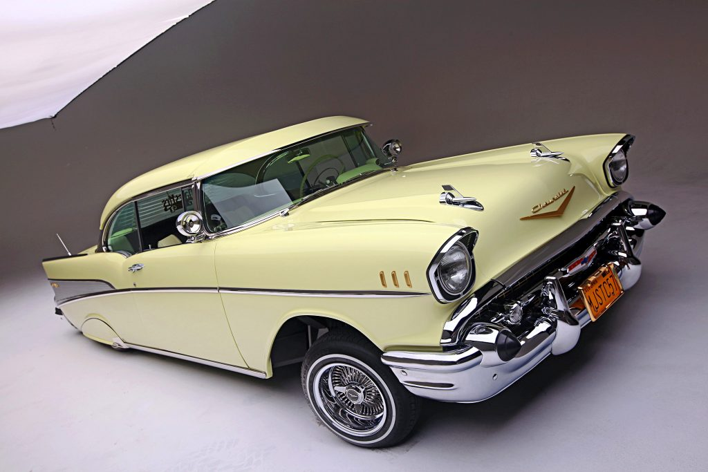 1957 chevrolet bel air front high