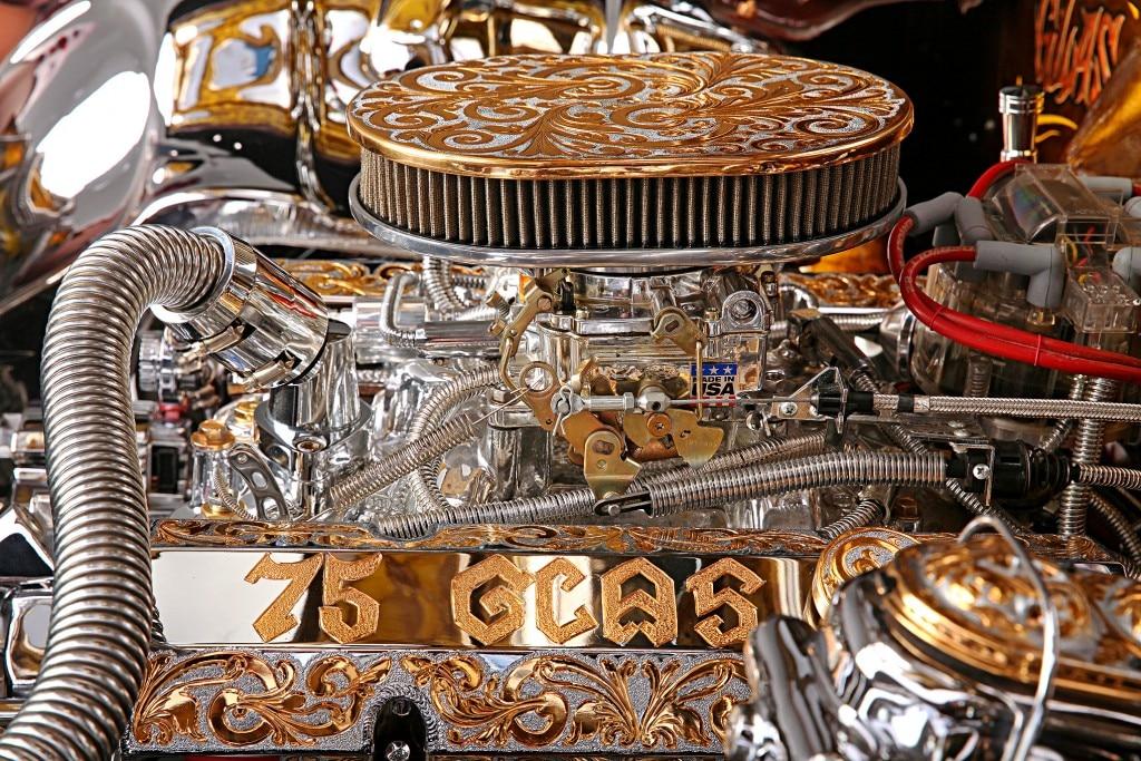 1975 chevrolet impala glasshouse edelbrock carb