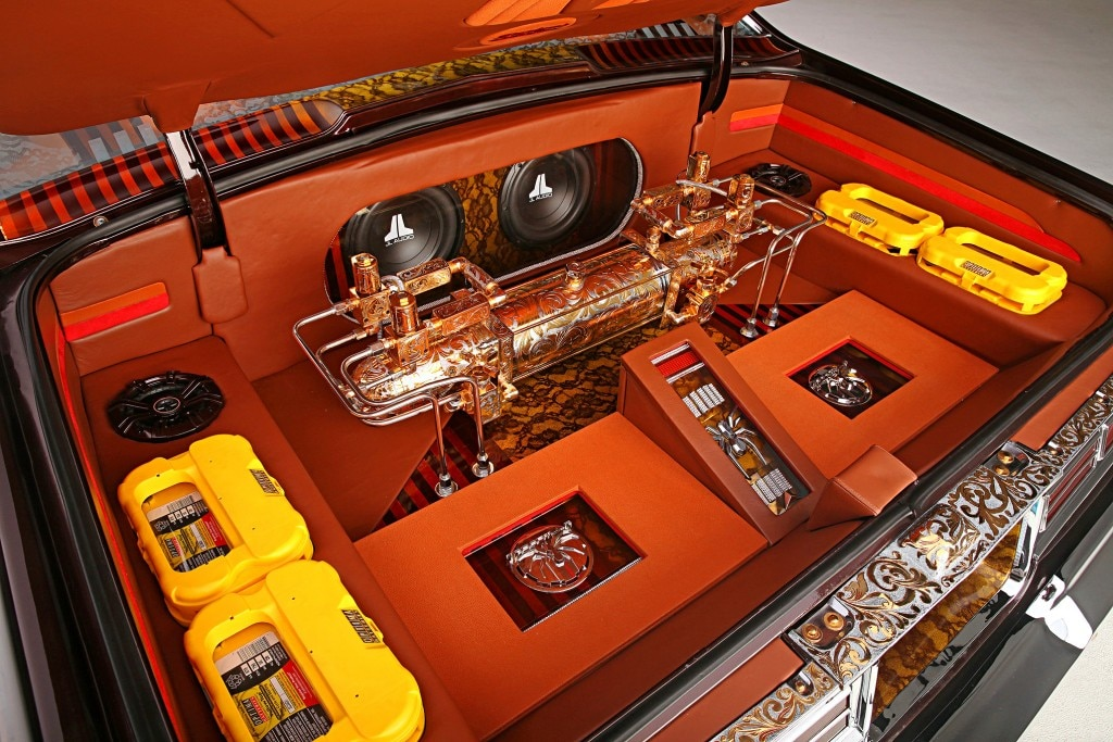 1975 chevrolet impala glasshouse sound stream amps whammy pump jl audio optima