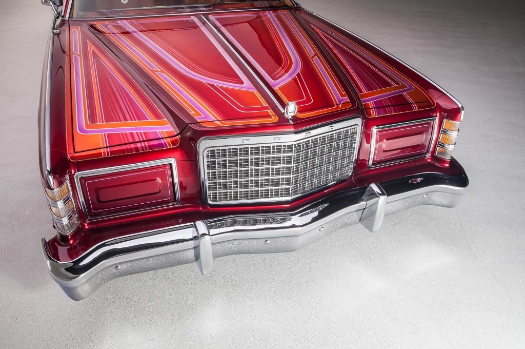 1976 ford ltd grill hide away headlights