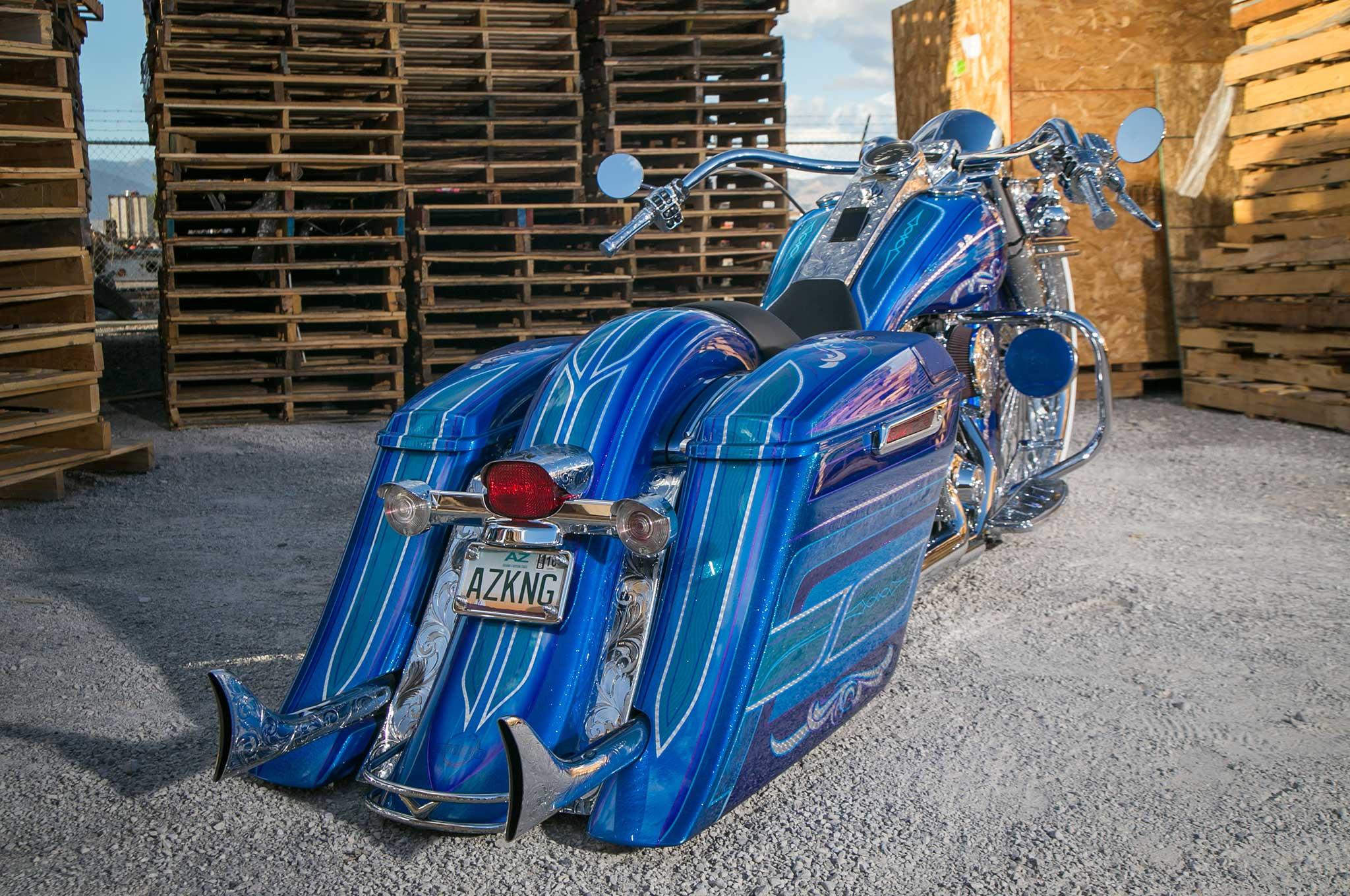 2014 Harley-Davidson Road King - Show Winner
