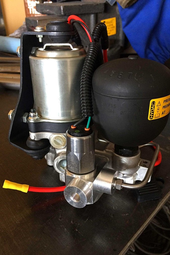 brake system upgrade with abs power brake inc electric hydraulic assist pump