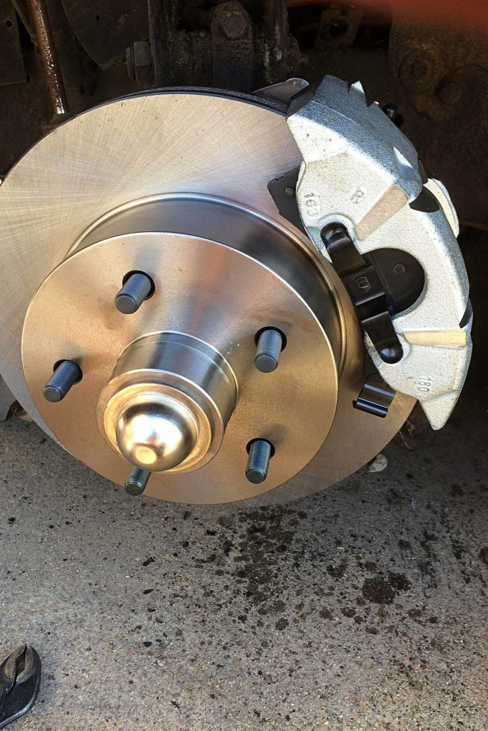 brake system upgrade with abs power brake inc rotor install