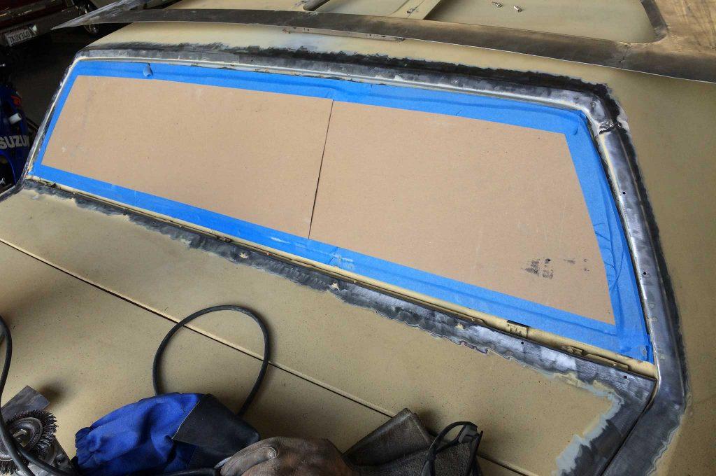 cadillac fleetwood brougham metal fab upgrade chipboard protector