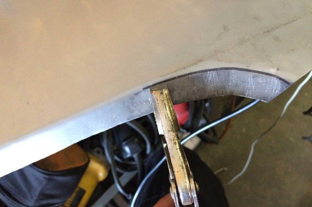 cadillac fleetwood brougham metal fab upgrade edge bending