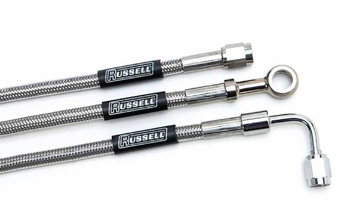 russell performance brake products and components competition brake hose assembly