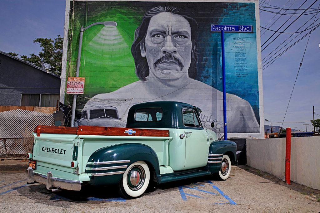1951 chevrolet 3100 step side truck pacoima blvd