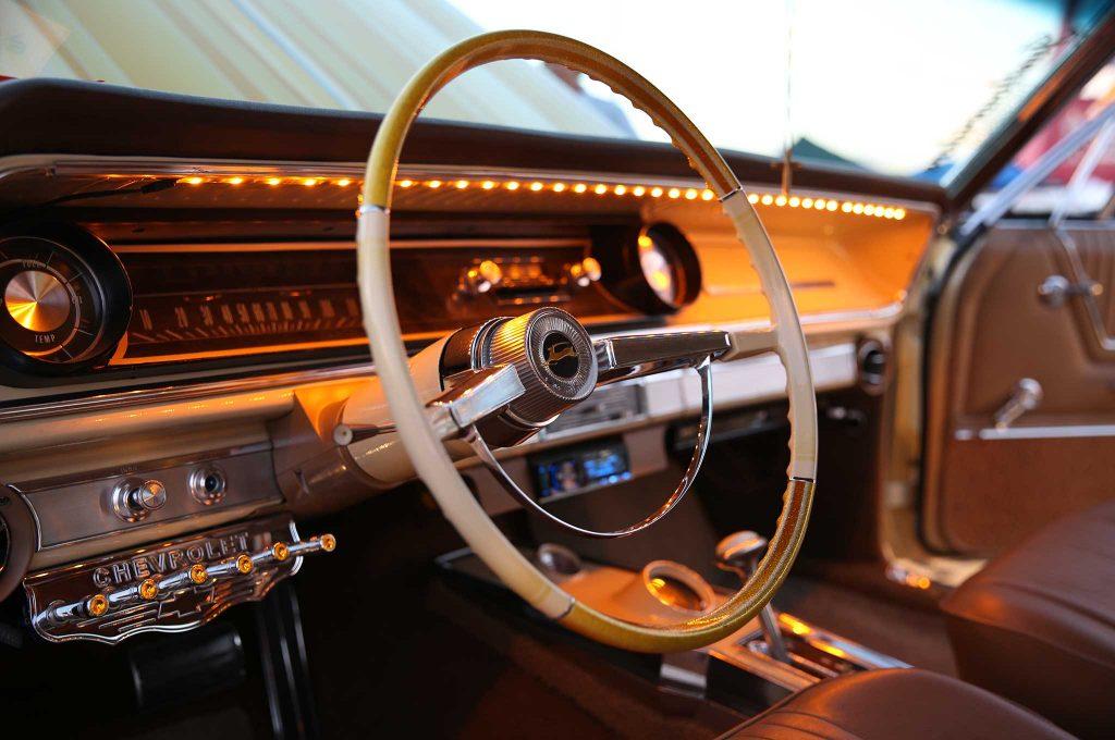 1965 chevrolet impala ss steering wheel