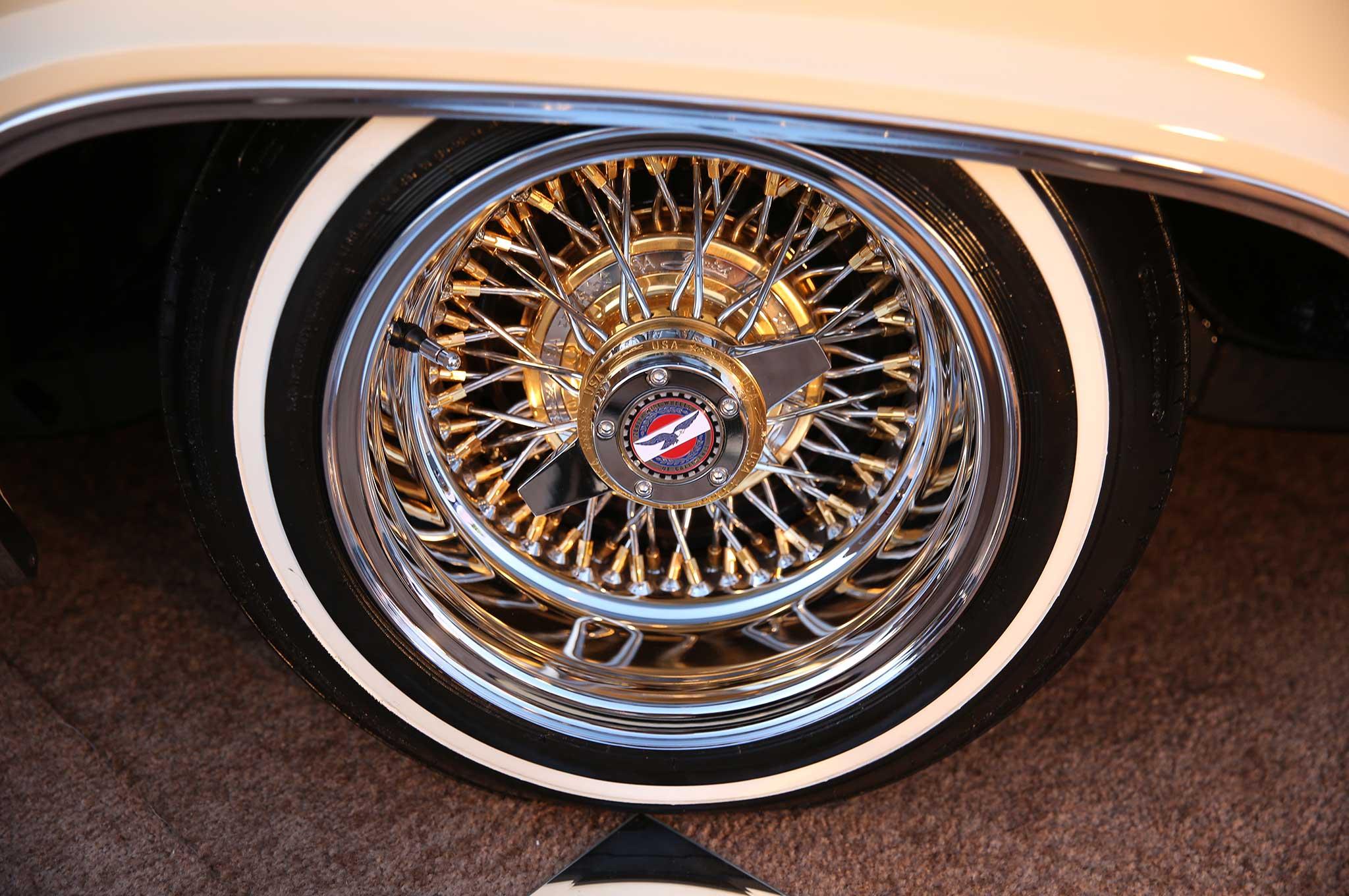 1965 chevrolet impala ss zenith wire wheel - Lowrider