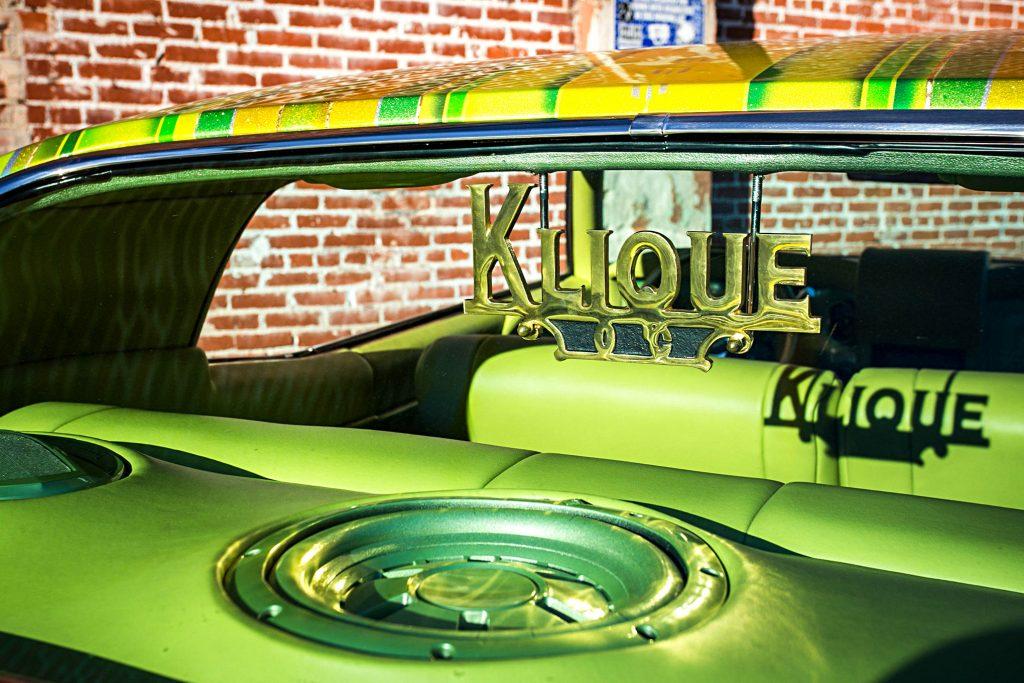 1970 chevrolet monte carlo klique club plaque