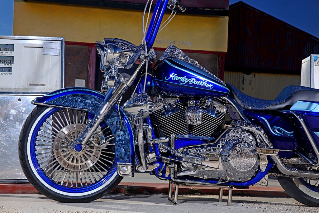 2000 harley davidson road king bike bagger