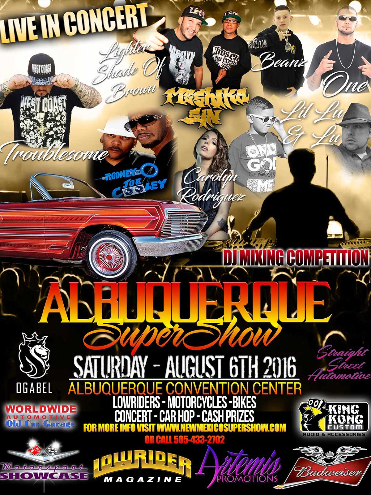Albuquerque Custom Car Show Concert Car Hop - Car show albuquerque