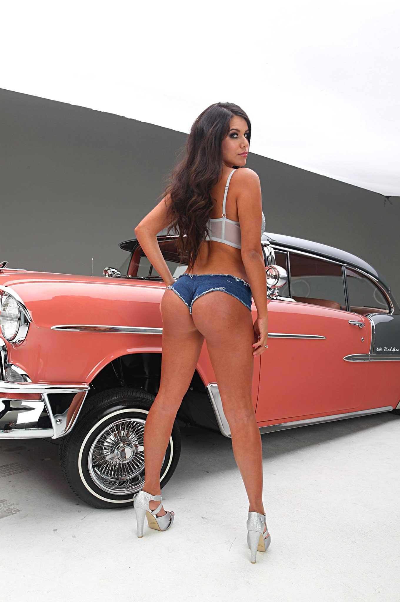 Chevrolet Bel Air >> Never Before Seen Pictures of Chantel Zales