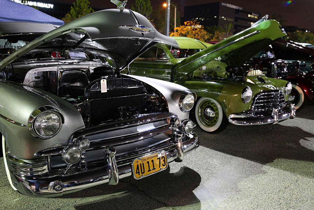 los angeles bombs cruise night chevyrolet bombs