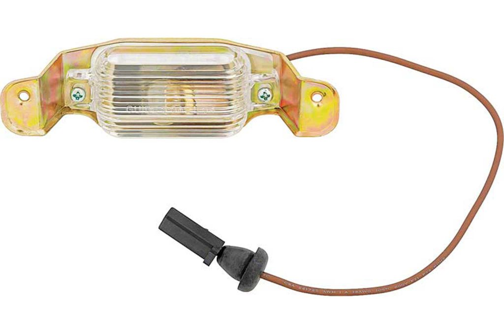 summer products oer parts rear license lamp kit