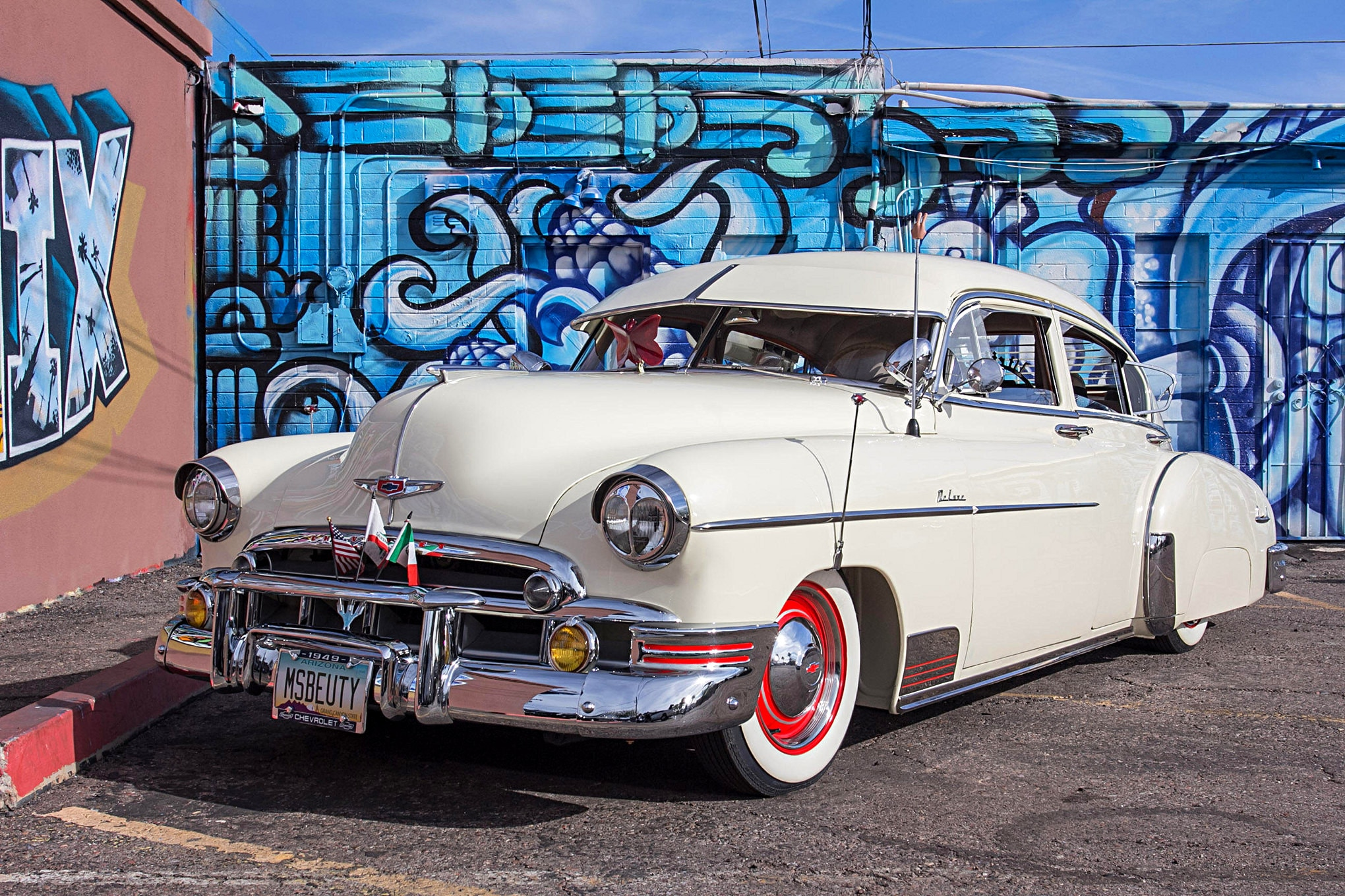 '49 Chevy Fleetline Deluxe - Lessons Learned. Stripes Earned.