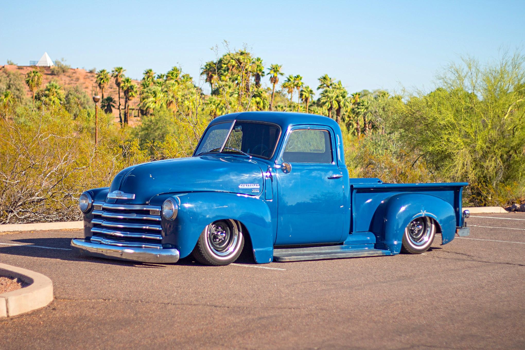 Chevy Truck Wheels >> Chad Fincher's Slammed 1950 Chevy 3100 Truck